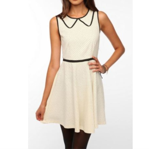 Coincidence & Chance UO polka Dot Short Dress 8 S